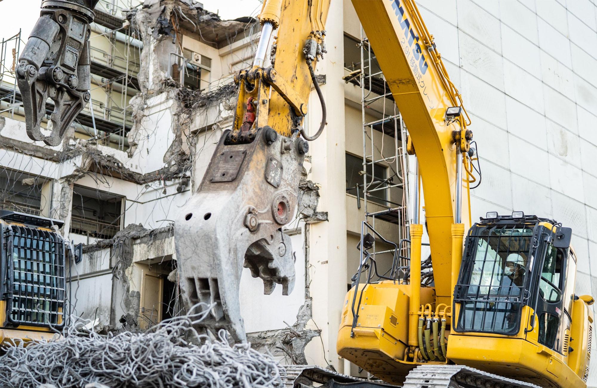 横浜市の解体工事、内装解体は株式会社RIZE(ライズ)へお任せ下さい。